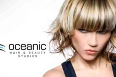 Oceanic Hair & Beauty - Full Head of Highlights With Cut and Blow Dry - Save 73%