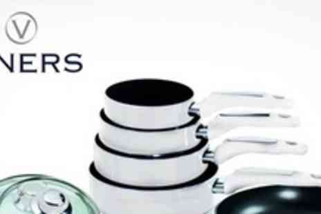 Viners - Five Piece Lightning Cookware Set - Save 60%