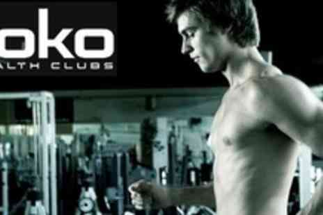 Roko - Ten Unrestricted Access Gym Passes With a Personal Trainer Taster Session - Save 86%