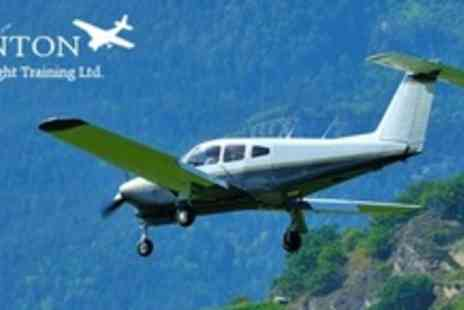Hinton Pilot Flight Training - Two Hour Flight Experience - Save 60%