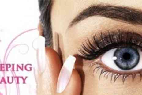 Sleeping Beauty - 10 Sets of False Eyelashes - Save 59%