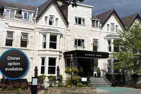 The Kimberley Hotel - Two night Yorkshire escape for two including breakfast and a bottle of house wine - Save 44%