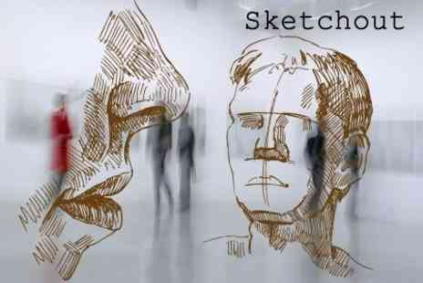 Sketchout - Full Day Drawing Workshop With Lunch For Adults or Children - Save 60%