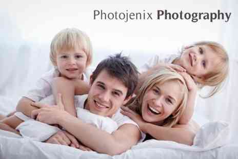 Photojenix Photography - Family Photoshoot With Eight - Save 80%