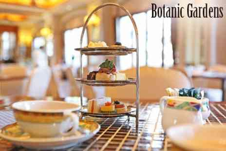 The Botanic Gardens Cafe - Afternoon Tea For Two - Save 44%