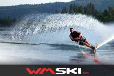 WM Ski - Cable Waterskiing or Wakeboarding Lesson - Save 60%