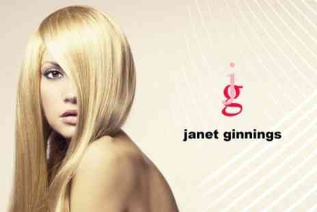 Janet Ginnings Hair - Half Head Highlights Plus Cut, Blow Dry, and Condition - Save 62%