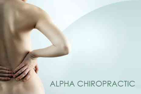 Alpha Chiropractic - Alpha Chiropractic Three Treatments With Consultation - Save 76%