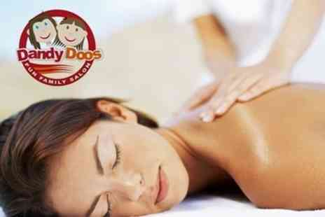 Dandy Doos - One Hour Full Body Massage - Save 64%