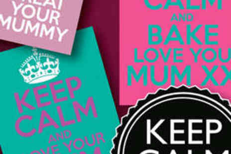 Keep Calm Posters - Personalised A3 Keep Calm Poster - Save 60%