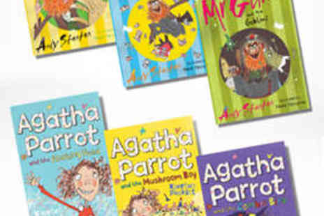 Kidsiqbooks - Three Mr Gum or Agatha Parrot Childrens Books - Save 55%