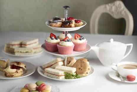 The Stuart Hotel - Afternoon tea for two inc sandwiches & cake - Save 68%