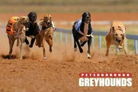 Peterborough Greyhounds - Entry to Peterborough Greyhounds For Up to Ten People With Fast Food - Save 50%