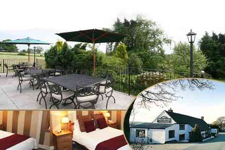 Dog & Partridge Country Inn - Derbyshire Break for 2 - Save 54%