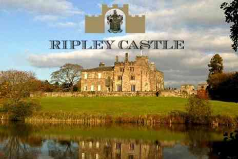 Ripley Castle Estate - Ripley Castle Estate Garden Entry With Hot Drink For Two Adults - Save 69%