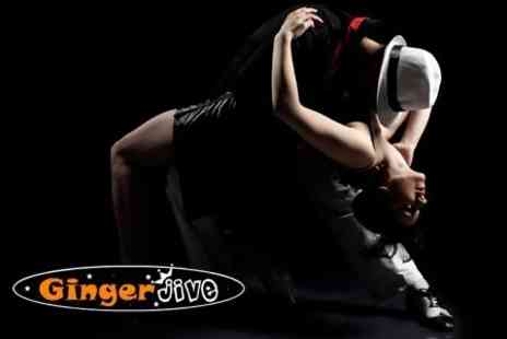 Ginger Jive - Modern Jive Dancing Ten Lessons For One - Save 77%