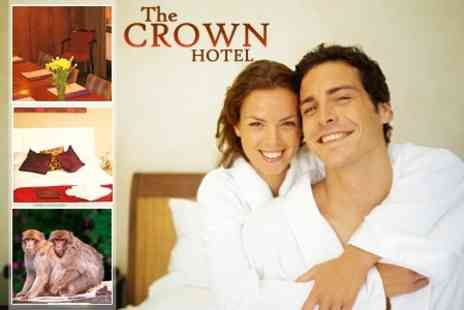 The Crown Hotel - Stone Stay One Night Family Stay With Monkey Forest Entry - Save 50%