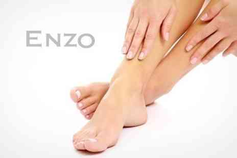 Enzo Beauty - Pedicure and Foot Callus Treatment - Save 68%