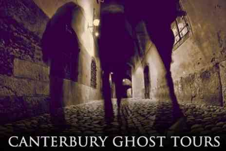 The Canterbury Ghost Tour - Canterbury Ghost Tour For Two - Save 50%