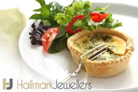 Hallmark Jewellers - Lunch For Two With Hot Drinks - Save 53%