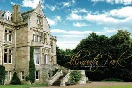 Tillmouth Park Country House Hotel - In Scottish Borders Two Night Stay For Two With Wine and Breakfast - Save 38%