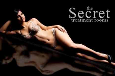 The Secret Treatment Rooms - IPL Hair Removal Six Sessions on Choice of Area - Save 71%