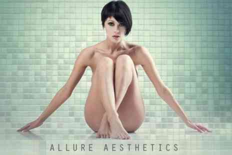Allure Aesthetics - IPL Hair Removal Six Sessions on Choice of Area - Save 82%