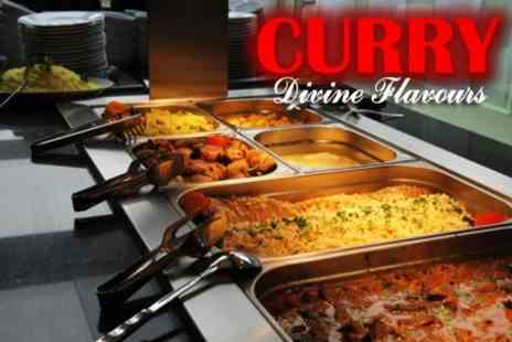Curry Divine Flavours - All-You-Can-Eat Indian Buffet For Two - Save 50%