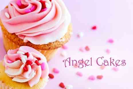 Angel Cakes - Cupcake Decorating Two Hour Class - Save 24%