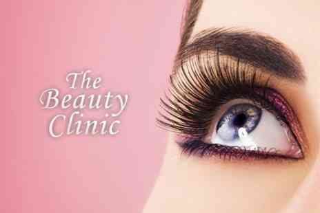 The Beauty Clinic - Eyelash Extensions Plus Eyebrow Shape - Save 73%