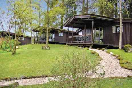 Altamount Chalets - Three night Scottish wood chalet getaway for Four - Save 43%