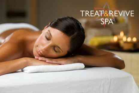 Treat and Revive Spa - Massage Plus Body Wrap and Elemis Facial - Save 82%