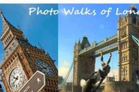Photo Walks of London - Two and a half hour photographic workshop tour of Londons Landmark areas - Save 58%