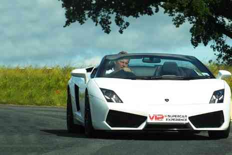 VIP UK Experience Days - Supercar Experience 3 Laps - Save 71%