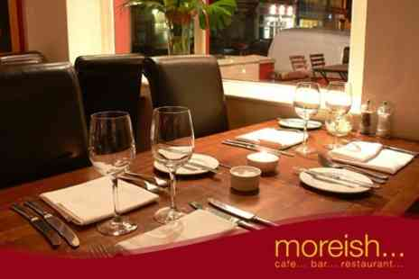 Moreish - Six Course Tasting Menu For Two With Prosecco - Save 59%