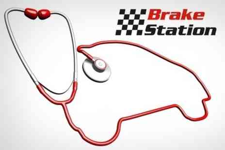 Brake Station - Full MOT Including Minor Repairs Plus Lifetime Tyre Puncture Service - Save 54%