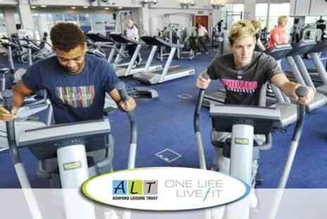 Ashford Leisure Trust - Ten Day or One Month Gym Passes - Save 86%