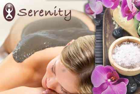 Serenity - Spa Experience Arabian Mud Ritual, Salt Cave and Treatment Plus Lunch For One - Save 67%