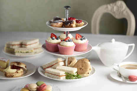 Great Coffee - Traditional afternoon tea for 2 people inc sandwiches, scones, cakes  - Save 50%