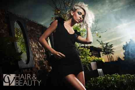 CV Hair and Beauty - Half Head Highlights or Full Head Colour With Cut and Conditioning Treatment - Save 60%
