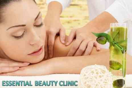 Essential Beauty - Choice of One Hour Massage From Lava Shell, Aromatherapy or Swedish - Save 57%