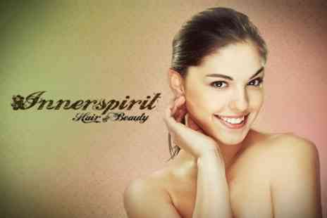 Innerspirit Hair and Beauty - Microdermabrasion Three One Hour Sessions With Facial - Save 35%