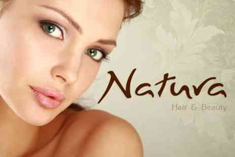 Natura Hair & Beauty - Dermalogica Facial With Face Mapping Plus Back Scrub and Choice of Massage - Save 62%