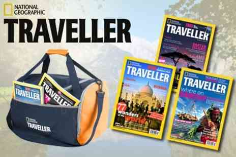National Geographic Traveller - Eight Issue Subscription - Save 58%