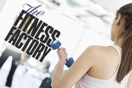 The Fitness Factory - One Month Membership - Save 72%