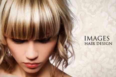 Images Hair Design - T Section Highlights and Senior Stylist Restyle - Save 70%