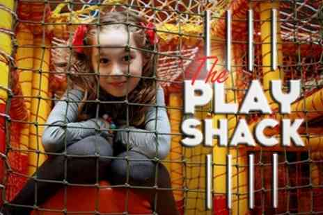 The Play Shack - Soft Play Entry For Up to Three Children Two Visits With Drinks - Save 82%