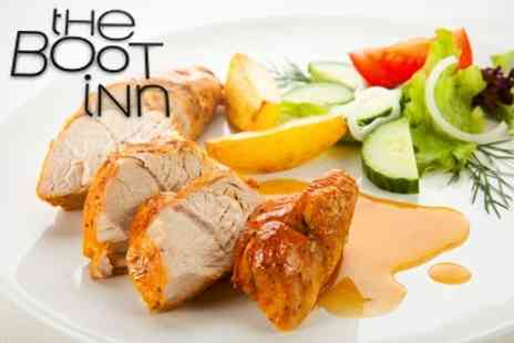 The Boot Inn - Sunday Lunch For Two - Save 56%
