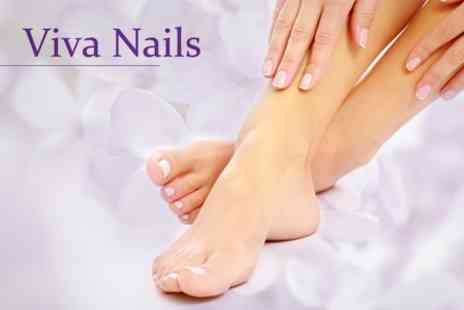 Viva Nails - Luxury Manicure Including Hand Massage and OPI Gel Polish - Save 52%