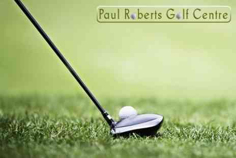 Paul Roberts Golf Centre - Golf Lessons With Swing Analysis - Save 65%
